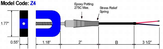 Magnet Mount Thermocouple Diagram